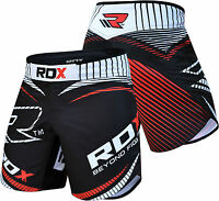 RDX MMA Shorts Kampfsport Training Kickboxen Kurze Free fight Grappling Hose DE