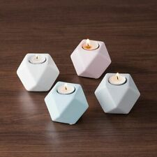 Nordic Ceramic Candle Holder Creative Small Candelabra Ornaments Home Decoration