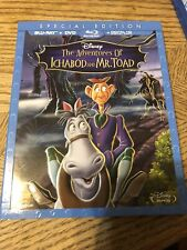 Disney's The Adventures of Ichabod & Mr. Toad on Blu Ray & DVD!