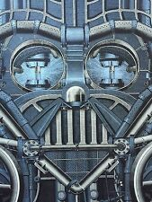 Mondo Star Wars 2010 Print King's Lead Hat Rob Jones Darth Vader Steampunk