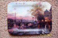 Thomas Kinkade Paris Postcards Images from Kinkade Collector Plate #4556A