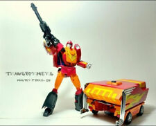 HOT ! Transformers Takasa Masterpiece MP-09 MP09 Rodimus CONVOY W/TRAILER LOOSE