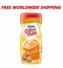 Nestle Coffee-mate Powdered Coffee Creamer Hazelnut 15 OZ WORLD SHIPPING