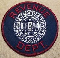 GA Savannah Georgia Revenue Department Patch