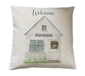 Farmhouse Welcome cushion cover 40 cm ~ Rustic/farmhouse/country/gift