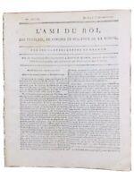 Rare Journal Royaliste 1790 Révolution Française Hesdin M de Cernon Caen Freron