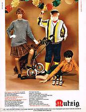 PUBLICITE ADVERTISING 055  1967  MUTZIG   bière  TONI
