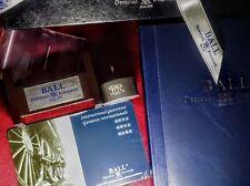 BALL WATCH RR Official Standard Railroad ENGRAVED TOOL Manual GUARANTEE CARD Box