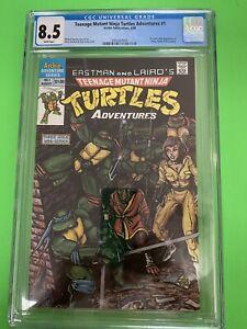 Teenage Mutant Ninja Turtles Adventures #1 CGC 8.5 1988
