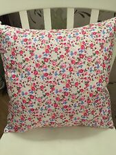 """Rose /& Hubble Mint Green Vintage Floral Cushion Cover 16/"""" Bouquet Shabby Chic"""