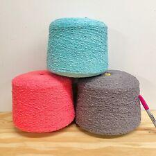 Yarn Lot - 3 LARGE Cones - Machine Knitting, Weaving, Crochet 13+ POUNDS!!