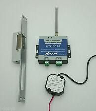 Mobilfunk-Zutrittskontroll-Set RTU5024 - hohe Sicherheit (+Netzteil+Türöffner)