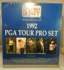 1992 PRO SET BINDER AVEC PAGES & COMPLET 300 CARTES PGA TOUR GOLF SET