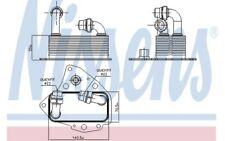 NISSENS Radiador de aceite motor 90803