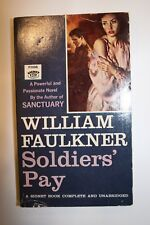 William Faulkner Soldiers' Pay FREE SHIPPING!