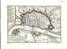 Antique map, Anvers, belle et grande Ville des Pais Bas