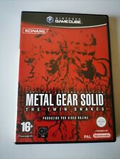 Metal Gear Solid The Twin Snakes NINTENDO GAME CUBE PAL ESP COMPLETO