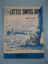 The Little Swiss Boy Sheet Music Vintage 1961 Piano Solo By Robert Townsend (O)