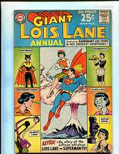 LOIS LANE ANNUAL #2 LOIS LANE'S KISS OF DEATH! (6.5) 1963