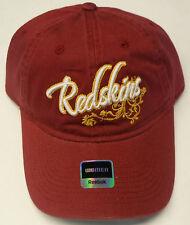 NFL Washington Redskins Women's Reebok Slouch Adjustable Cap Hat Buckle-Back NEW