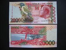 SAINT THOMAS AND PRINCE  20000 Dobras 26.8.2004  (P67b)  UNC