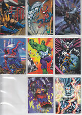 Marvel Universe:94 Flair- 1994-Lot 30-8 Cards