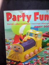 PARTY FUN - JENNY DODD - THEMES, CAKES, INVITATIONS, TREAT BAGS, FOOD, GAMES