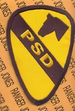 1st Cavalry Division PSD Personnel Security Det patch