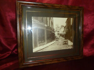 Vintage Photograph Church St Ennis Ireland FRAMED Lawrence Collection 19thC