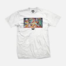 DGK Skateboard Co X Ron English Artist T-Shirt - White