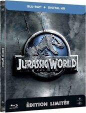 Jurassic World (Chris Pratt, Bryce Dallas Howard) BLU-RAY STEELBOOK NEUF