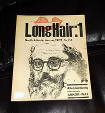 LONG HAIR #1 Barry Miles Mag 1965 Ginsberg MALANGA Archie Shepp KUPFERBERG