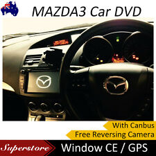 """8"""" MAZDA 3 GPS CAR DVD Player with canbus Free camera Window CE Fit 2009-2013"""