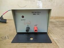 No Name 12V 4A PSU Power Supply NML-294 NML294 12 Volt 4 A Amp Used