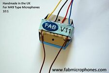 FAB V11 - Neumann BV11 Transformer for M49 Style Microphone, clones, mods etc.