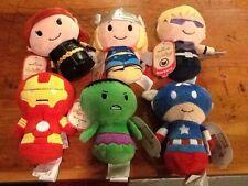 Hallmark Itty Bittys Marvel Avengers Lot of 6 NWT