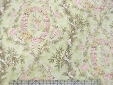 Moda Robyn Pandolph Moondance Roses Wreath Green Fabric