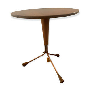 Midcentury Tripod Side Table By Alfred Larsson for Alberts Tibro, 1960s