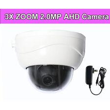 2.5'' 3X ZOOM HD 1080P PTZ CVBS AHD TVI CVI 4in1 Dome Security Camera IR Night