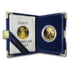 Special Price! 1 oz Proof Gold American Eagle Coin (Random Year, w/Box & COA)