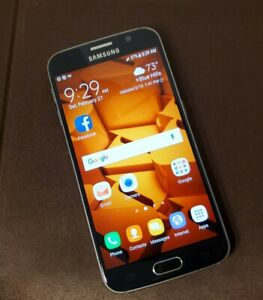Samsung Galaxy S6 SM-G920P - 32GB - Black Sapphire (Boost Mobile) Smartphone