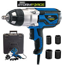Draper Storm Force Mains 240v 1000w 1 2 Drive Impact Wrench Nut Gun Drill