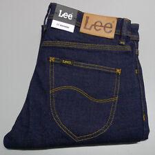 NEW LEE JEANS W-30 Stovepipe L1 RINSE Men's Dark Blue Denim LB-8204 $149.95