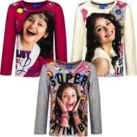 Kids Girls SOY LUNA Disney Character Long Sleeves T.Shirt Top,7 8 9 10 11 12 YRS