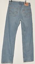 "SUPERB MEN'S JEANS LIGHT BLUE LEVI STRAUSS & CO 581 STRAIGHT W 32"" L32"""