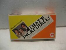 Vintage Rare Game The Incredible's 1981 Nine Games In One From MPH Games   gm173