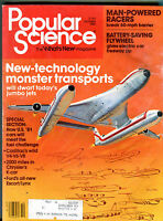 Popular Science Magazine October 1980 Monster Transports EX 032416jhe