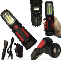 Super Bright Cordless Magnetic 5W+1 LED Inspection Lamp Torch Camping Work Light