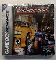 Midnight Club: Street Racing (Nintendo Game Boy Advance GBA) Read Description