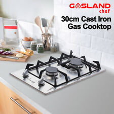 GASLAND chef Gas Cooktop 2 Burner Gas Hob Stainless Steel Cook Top 30cm